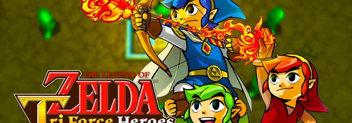 The Legend of Zelda: Tri Force Heroes nuevo juego de Nintendo