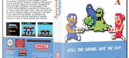 Germ Squashers nuevo juego para Nes, SNes, Megadrive, IOS y Android