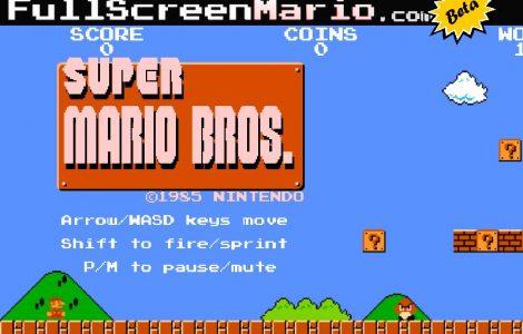 Nintendo borra el código de Full Screen Mario alojado en GitHub