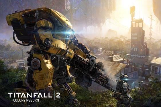 Colony Reborn nuevo DLC gratuito para Titanfall 2