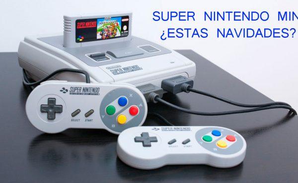 ¿Una Super Nintendo mini para navidades?
