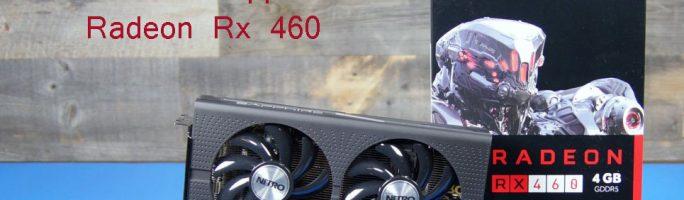 Análisis Sapphire Radeon Nitro Rx 460 4GB GDDR5