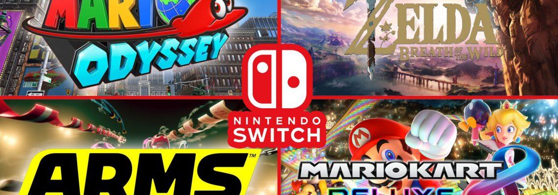 Nintendo añade dos nuevos juegos a la eShop de Switch