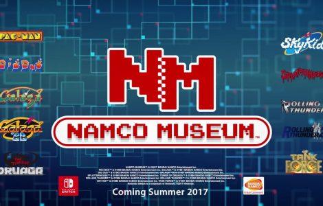 Nintendo Switch contará con juegos retro gracias a Namco Museum