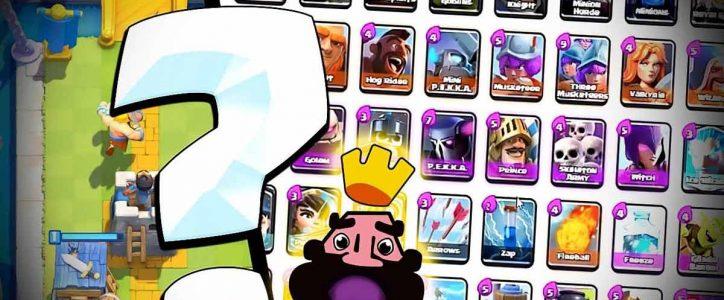 Creador de mazos para Clash Royale