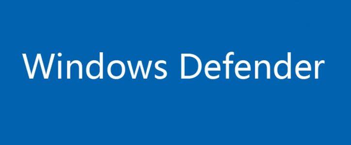 Cómo desactivar windows defender (Windows 10)