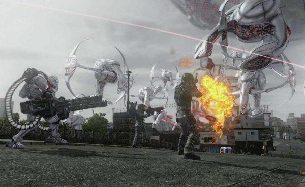 Nuevo trailer de Earth Defense Force 5