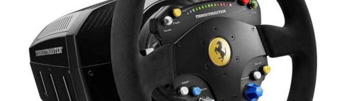 Thrustmaster lanzará el volante TS-PC Ferrari 488 Challenge Edition