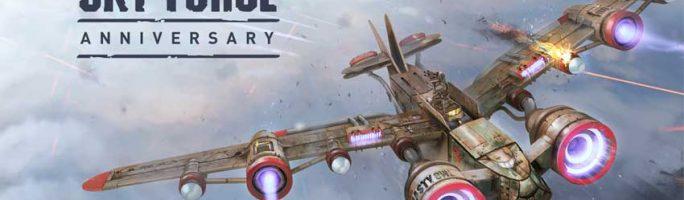 Sky Force Anniversary dispondrá de formato físico en PS4 y PS Vita