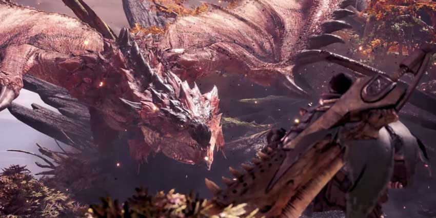 aumentar la afinidad de armas en Monster Hunter World