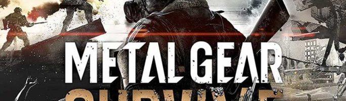 Conseguir Agua y comida en Metal Gear Survive