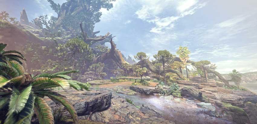 cambiar el color de la armadura en Monster Hunter World