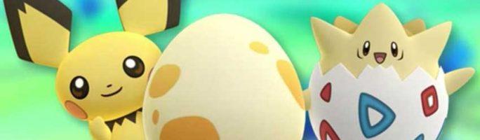 Lista de los Pokémon que salen de los huevos de 3 generación, Pokémon Go