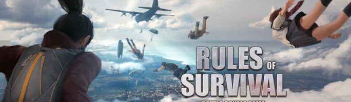 Solucionar los errores en Rules of Survival