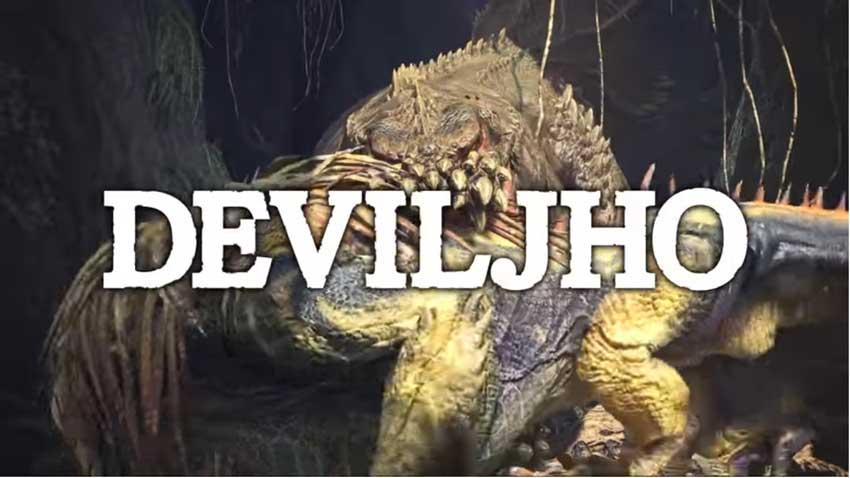 encontrar y matar a Deviljho en Monster Hunter World