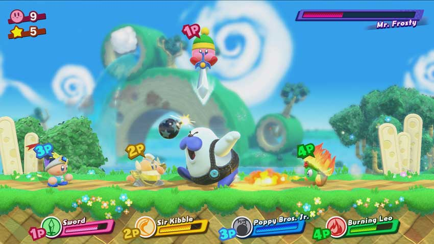 derrotar a los jefes (Boss) en Kirby: Star Allies
