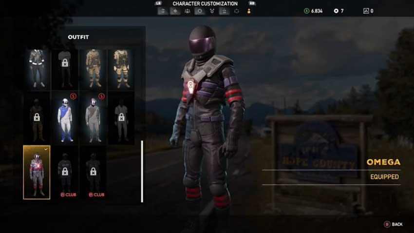 desbloquear la armadura Omega en Far Cry 5