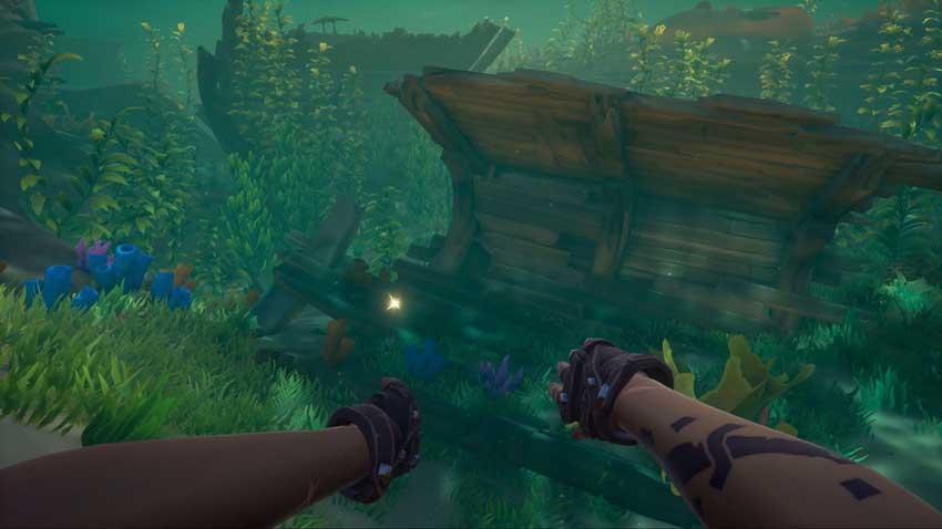 truco para encontrar barcos hundidos en Sea of Thieves