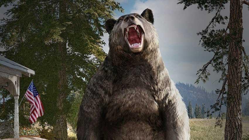 desbloquear el perro, el león y el oso en Far Cry 5