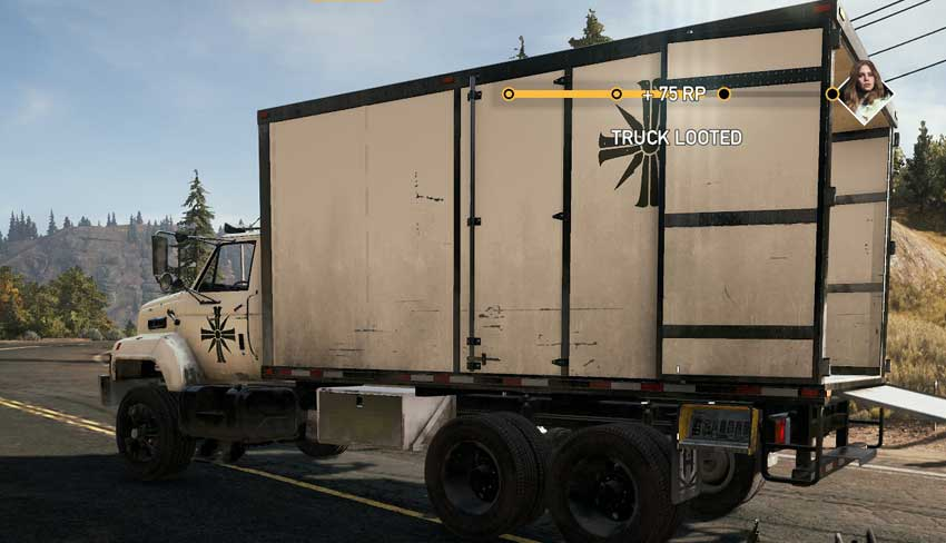 abrir los camiones de botín en Far Cry 5