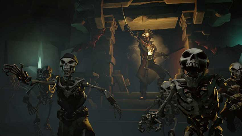 convertirte en un pirata de leyenda en Sea of Thieves