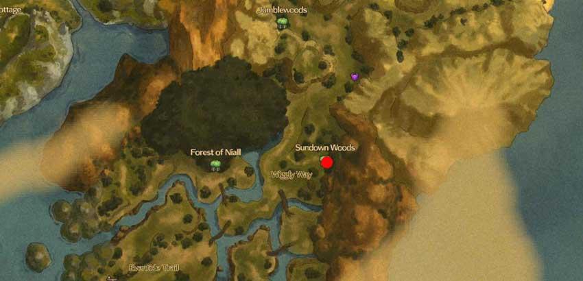 Localización de los laberintos espejismo en Ni No Kuni 2