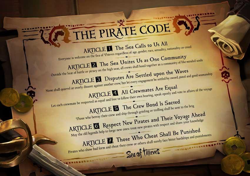 Qué es el código pirata en sea of Thieves