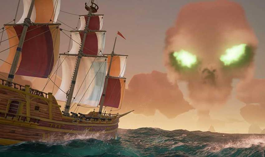 vencer y capturar las fortalezas esqueletos en Sea of Thieves