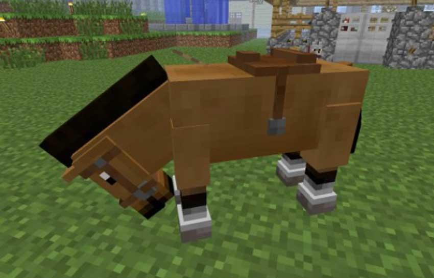 Cómo hacer una montura en Minecraft