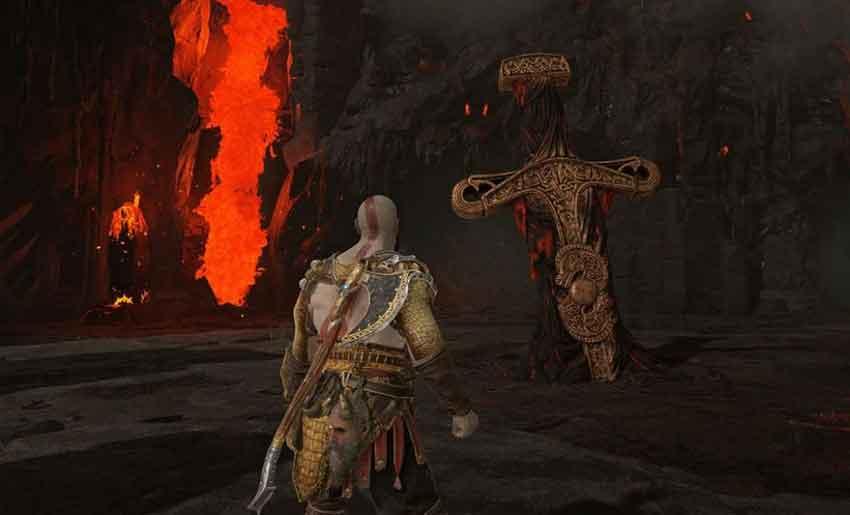 conseguir brasas latentes en God of War 2018