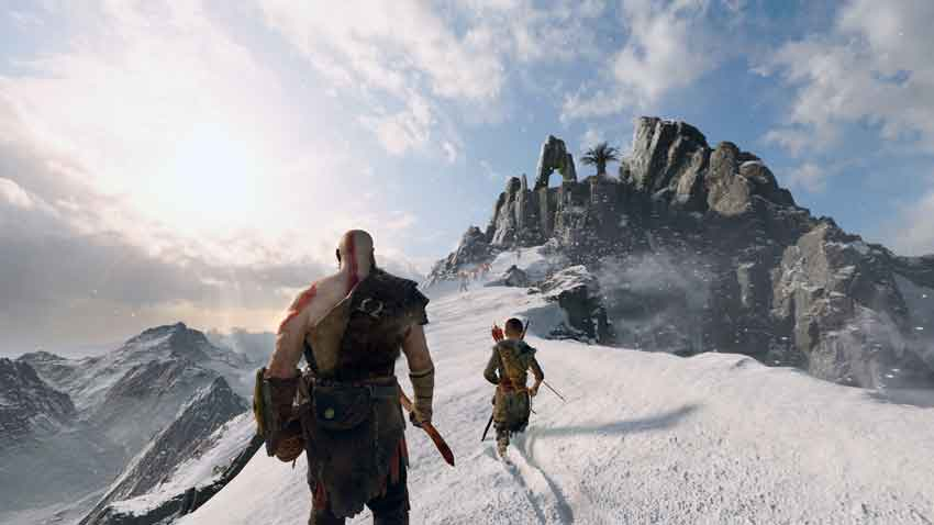 catalizadores glaciales en God of War 2018