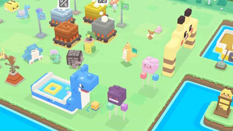 capturar pokémons Shiny en Pokémon Quest