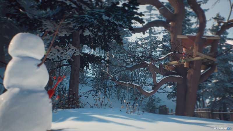 Cómo derrotar al muñeco de nieve en The Awesome Adventures of Captain Spirit