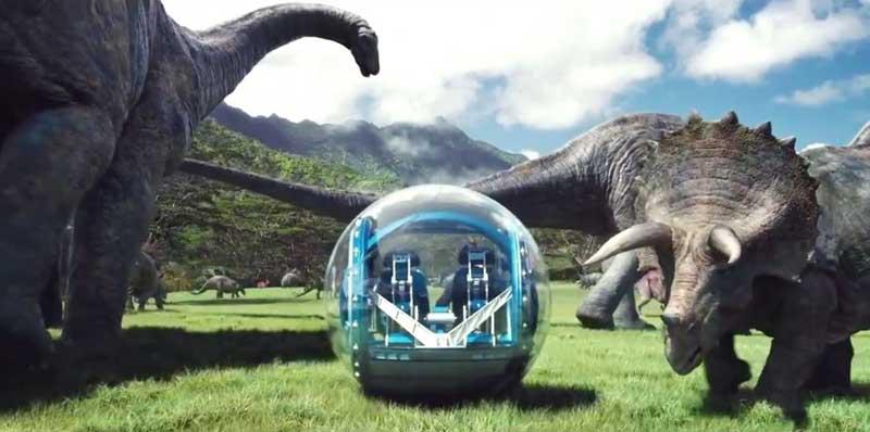 desbloquear la Girosfera en Jurassic World Evolution