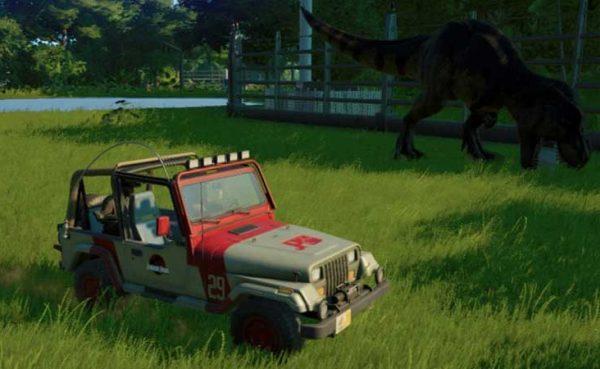 Cómo desbloquear nuevos jeeps en Jurassic World Evolution