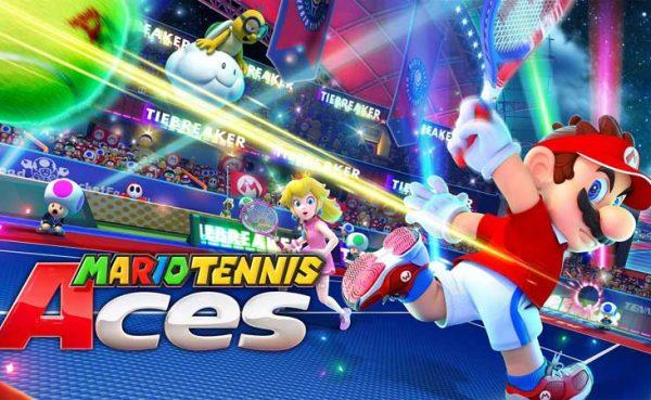 Desbloquear personajes y pistas en Mario Tennis Aces