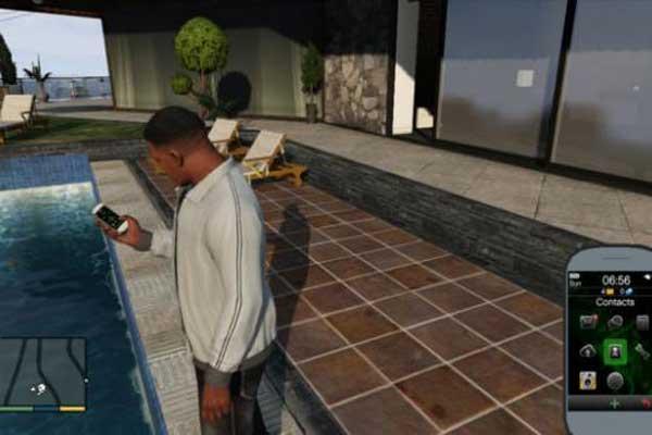 llamadas de teléfono en GTA 5