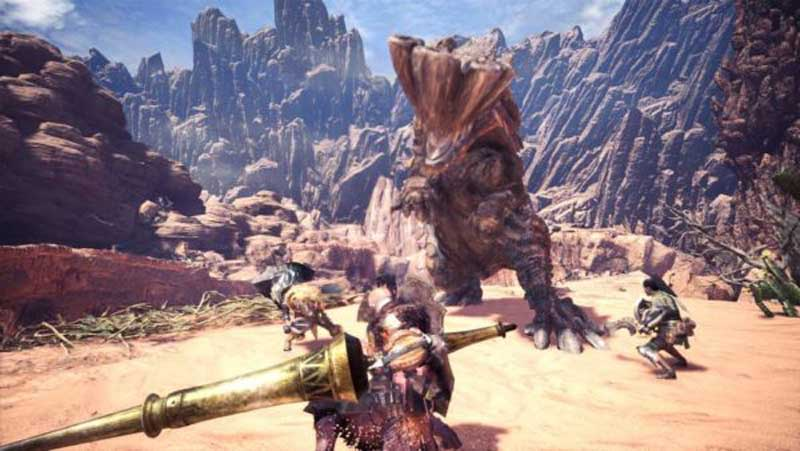 garra afilada en Monster Hunter World
